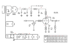 Tubeamplifier Schematics - Tube Preamplifiers and Tube Poweramplifiers